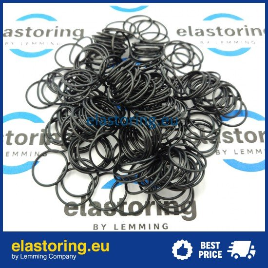 O-ring 1,24*2,62 NBR70