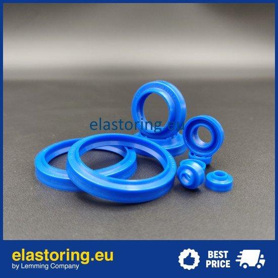 Pneumatic seal K52-12*16,5*3,7/4 PU